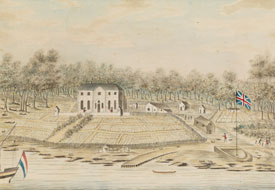Governor's House at Sydney, Port Jackson, 1791