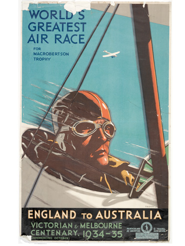 World's greatest air race for MacRobertson trophy