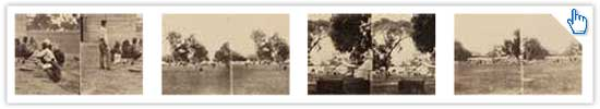 See the earliest photographs in stereoscopic view