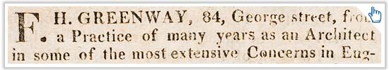 Read the Sydney Gazette advertisement from 1814