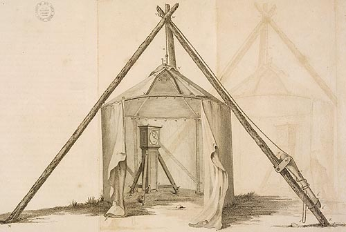 Portable observatory, The Original observations, made in the course of a voyage toward the South Pole