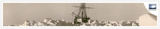 View a selection of Hurley's famous images of the ship and expedition