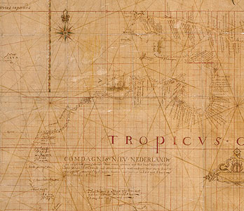 6f819c1b3 Bonaparte Tasman Map, 1640s. | State Library of New South Wales
