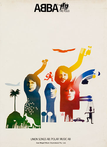 ABBA: the folio (songbook), Ivan Mogull Music (Australasia) Pty Ltd, 1977