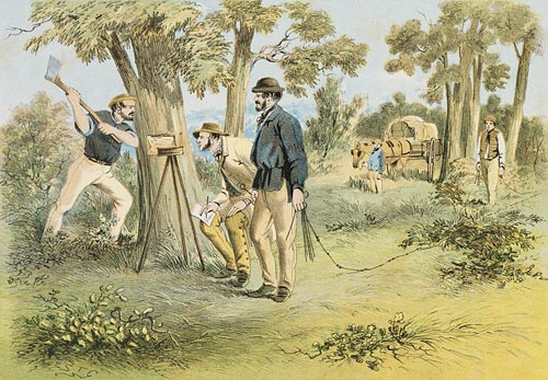 Surveyors, S. T. Gill (1818-1880)