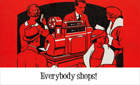 Everybody shops!