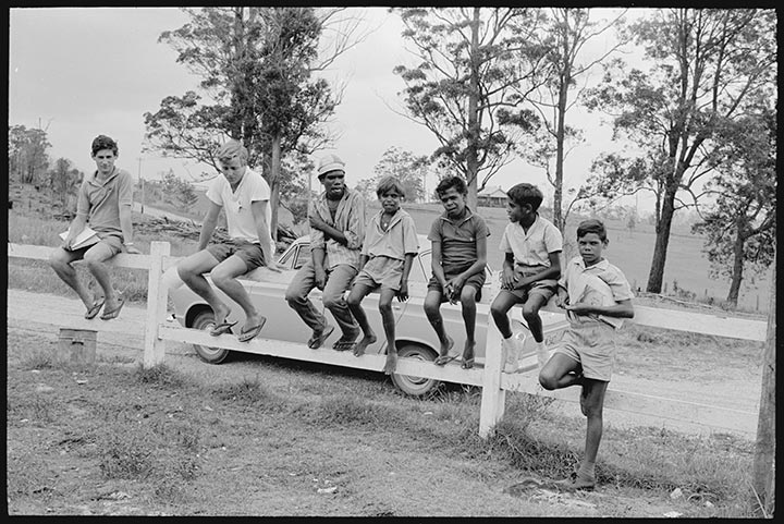 Surveying at Bowraville, February 1965