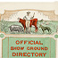 Official Show Ground Directory, Royal Agricultural Society's Show Grounds, Moore Park, Sydney