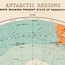 Map of known regions of Antarctica from Antarctic exploration : a plea for a national expedition