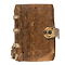Cover - Manuscript book of statutes containing Magna Carta and 20 other statutes in Latin or French